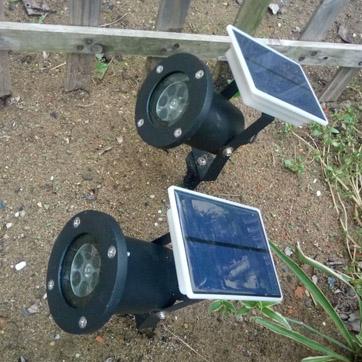 Солнечный проектор Рождества
